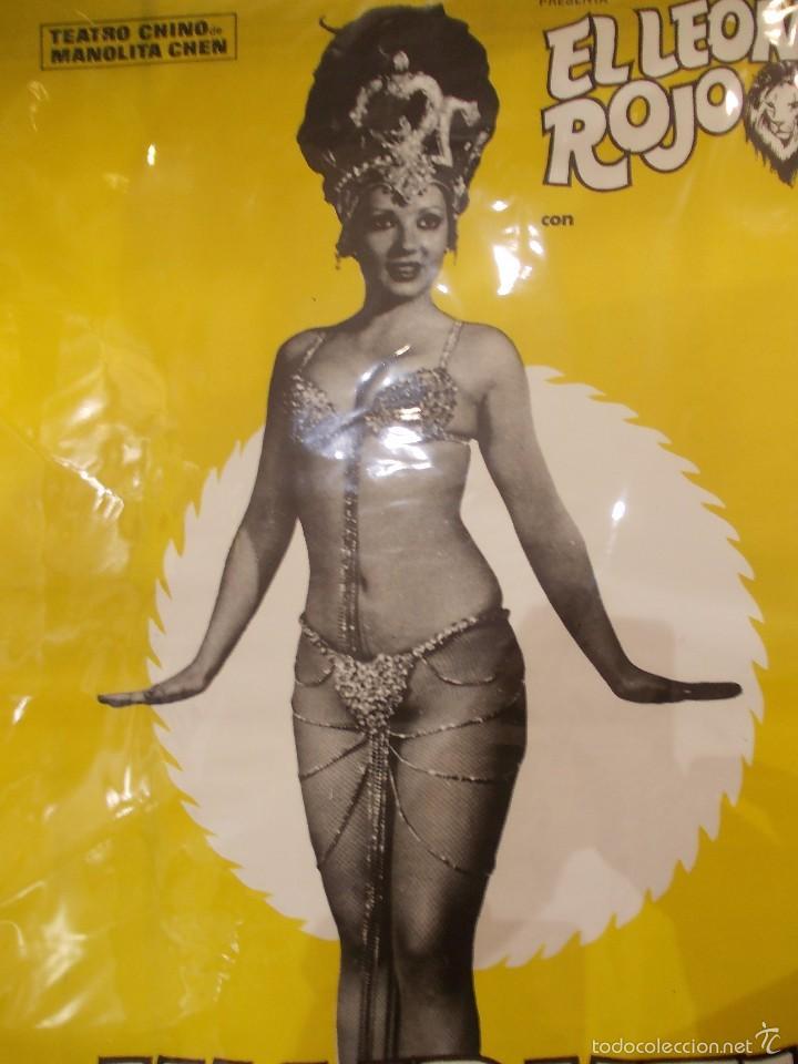 Carteles Espectáculos: CARTELES CIRCO TEATRO CHINO MANOLITA CHEN - 1977 - Mª CARMEN SALAS Y ROSA VIDAL - IMPECABLES - Foto 10 - 58134117