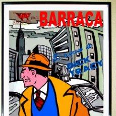 Carteles Espectáculos: CARTEL DE DISCOTECA - BARRACA - AÑOS 90 . EL REGRESO DE DICK TRACY. TAMAÑO 70 X 49,5 CMS. Lote 60093493