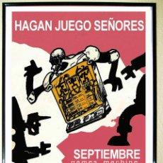 Carteles Espectáculos: CARTEL DE DISCOTECA - ARSENAL - RUTA BAKALAO AÑO 1990 . HAGAN JUEGO..70X50. Lote 253367295
