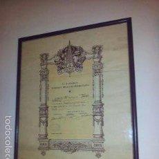 Carteles Espectáculos: ANTIGUO CARTEL DE - LA PALMA REUS - 29-6-1935 II CERTAMEN LITERARI MUSICAL/HUMORISTIC. Lote 59978491