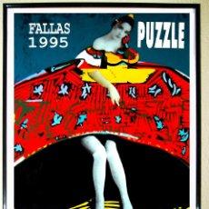 Carteles Espectáculos: CARTEL DE DISCOTECA - PUZZLE - DE FALLAS 1995 . TAMAÑO GRANDE 70X49. Lote 61168071