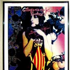 Affiches Spectacles: CARTEL DE DISCOTECA - SPOOK FACTORY - FIESTA DE FALLAS 1994 VALENCIA .TAMAÑO 70 X 50 CMS. Lote 209070866
