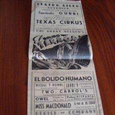 Carteles Espectáculos: TEATRO LICEO. GUERNICA. VIZCAYA. IMPR. GOITIA. 1947. Lote 62276832