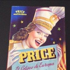 Carteles Espectáculos: PROGRAMA DEL CIRCO PRICE -FESTIVAL MUNDIAL DEL CIRCO MADRID 1967 . Lote 65144103