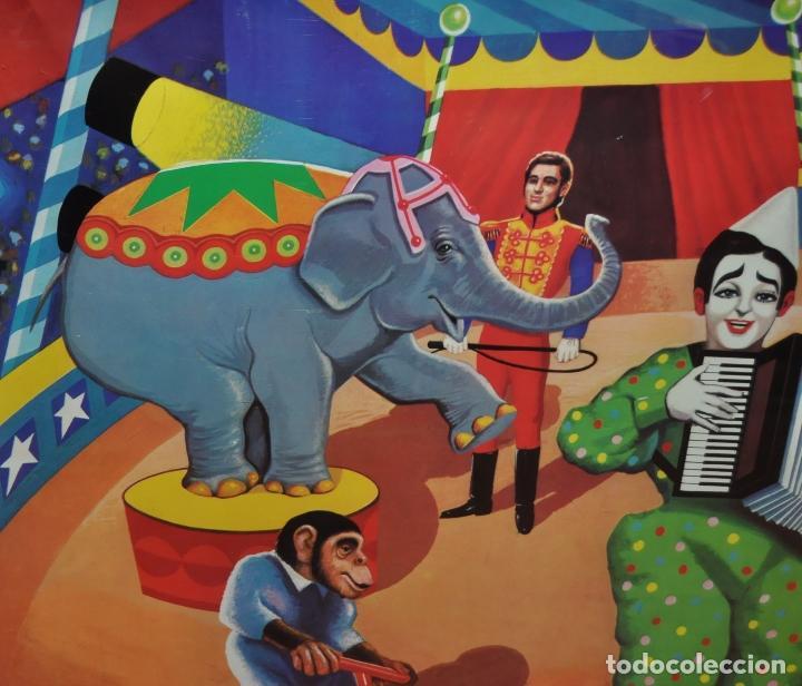 Carteles Espectáculos: CARTEL - POSTER ORIGINAL DE LOS AÑOS 60 DE JUGUETES BORRAS. MATARO. JUGUETE - Foto 2 - 67118457