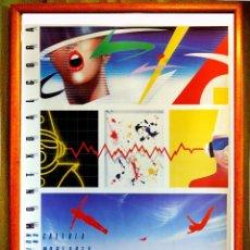 Carteles Espectáculos: CARTEL - ALGORA MONXO . GALERIA - MORIARTY - EXPOSICIÓN -TAMAÑO 74X59-CMS. Lote 101024943