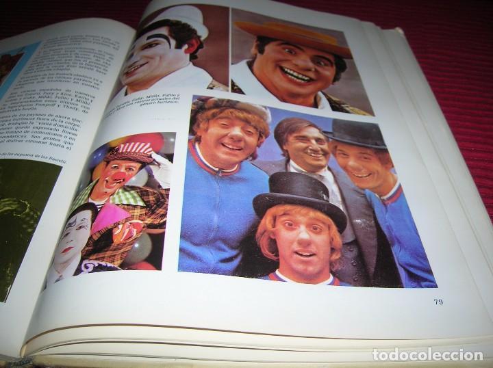 LIBRO EL MARAVILLOSO MUNDO DEL CIRCO .EDICIONES NOVA ,AÑO 1979 (Coleccionismo - Carteles Gran Formato - Carteles Circo, Magia y Espectáculos)