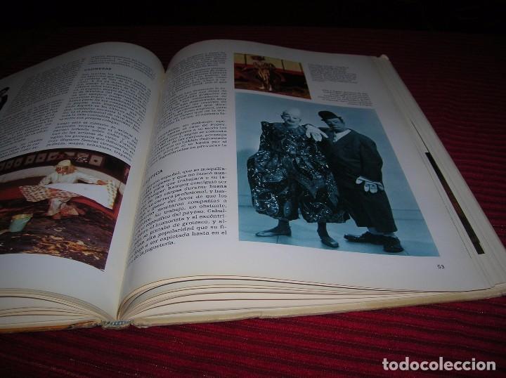 Carteles Espectáculos: Libro El Maravilloso mundo del Circo .Ediciones Nova ,año 1979 - Foto 4 - 69767561
