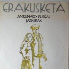 Plakate Schauspiele - CARTEL ORIGINAL / 1970' / erakusketa antziñako jazkerak / 47x82 cm - 82550036