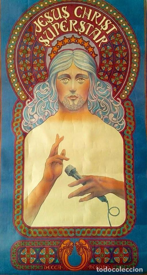 CARTEL JESUCRISTO SUPERSTAR 1971, DAVID BYRD - (OFERTA) (Coleccionismo - Carteles Gran Formato - Carteles Circo, Magia y Espectáculos)