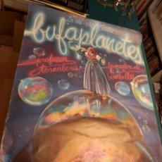Carteles Espectáculos: BUFAPLANETES, PROFESSOR TORNABOUS DOMADOR DE BOMBOLLES - LA VIU-VIU TEATRE - POSTER 83X 60 CM.- 1983. Lote 91043475