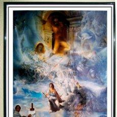 Carteles Espectáculos: CARTEL LITOGRAFIA DE - SALVADOR DALÍ MUSEUM - ECUMENICAL CONCIL - 1960 , PRINTING ADS AÑO 1994. Lote 91200850