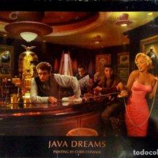 Carteles Espectáculos: POSTER CARTEL DE - CHRIS CONSANI - JAVA DREAMS - 1999 TAMAÑO 81X62 CMS. Lote 292612578