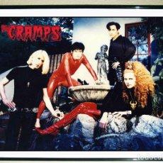 Carteles Espectáculos: POSTER CARTEL PROMOCIONAL DE - THE CRAMPS - AÑOS 90 TAMAÑO 45 X 31 CMS. Lote 92500790
