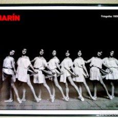 Carteles Espectáculos: CARTEL DE EXPOSICIÒN FOTOGRAFÌA DE - MARIN - FOTOGRAFIA DE1908 A 1940 . IVAM VALENCIA 2008 70 X 50 C. Lote 93093065