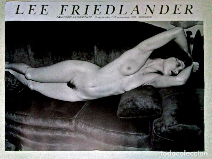 CARTEL DE FOTOGRAFIA DE - LEE FRIEDLANDER - EXPOSICION EN IVAM VALENCIA 1992 TAMAÑO:50X66 CMS (Coleccionismo - Carteles Gran Formato - Carteles Circo, Magia y Espectáculos)