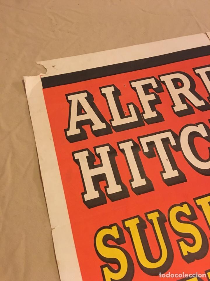 Carteles Espectáculos: Cartel original de cine. Marnie La ladrona. Alfred Hitchcock. 1964. Grandes dimensiones. Cine. Sean - Foto 3 - 99745302