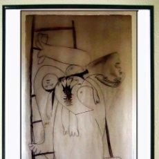 Carteles Espectáculos: CARTEL EXPOSICION DE - PICASSO - 25 AÑOS DEL GUERNICA. MUSEO ARTE REINA SOFIA 2006 TAMAÑO 70X40 CMS. Lote 103539871