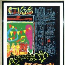 Carteles Espectáculos: CARTEL DE FESTIVAL-TEATRO LIRICO ESPAÑOL DE ASTURIAS- ZARZUELA - OVIEDO -VIVANCOS- 1994 68X 45,5. Lote 107467927