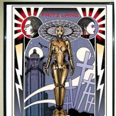 Carteles Espectáculos: POSTER DE - METROPOLIS - BY WILLIAM STOUT. COMIC ART ROBOT .TAMAÑO 67 X 45,5 CMS.. Lote 110556031