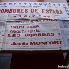 Carteles Espectáculos: BOMBONES DE ESPAÑA ( II AÑO TRIUNFAL) CARTEL 64 X 88 CM.. Lote 108980803