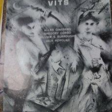 Carteles Espectáculos: CARTEL * VITS * ALLEN GISBERT-JACK KEROUAC ... GRUP DE TEATRE KADDISH - 1981 ( 39 X 18 ). Lote 110162563