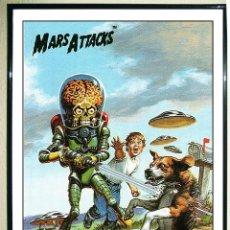 Carteles Espectáculos: POSTER DE PELICULA - MARS ATTACKS - TAMAÑO 45 X 32 CMS . NUEVO.. Lote 148177109