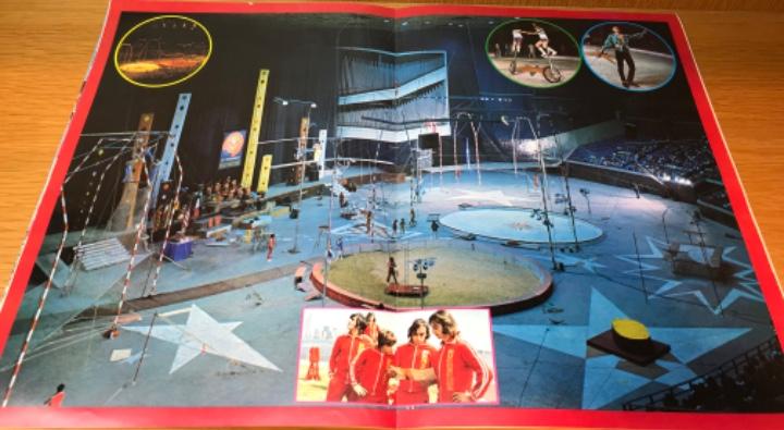 Carteles Espectáculos: Raro programa del Circo los Muchachos in Japan - Circo la Ciudad de los Muchachos en Japón - Años 80 - Foto 8 - 112535775