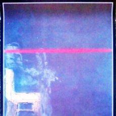Carteles Espectáculos: CARTEL DE EXPOSICION DE - CHILLLIDA, MILLARES , SAURA Y TAPIES - EN IVAM.1989.INFORMALISMO ESPAÑOL 7. Lote 112566667