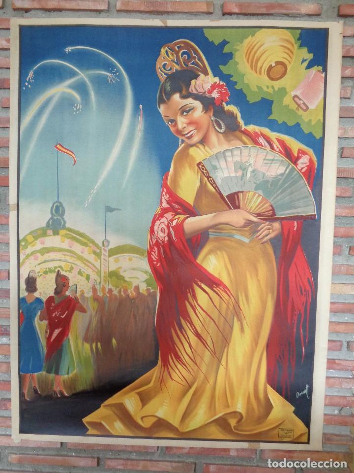 SEVILLANA.C.-95 (Coleccionismo - Carteles Gran Formato - Carteles Circo, Magia y Espectáculos)