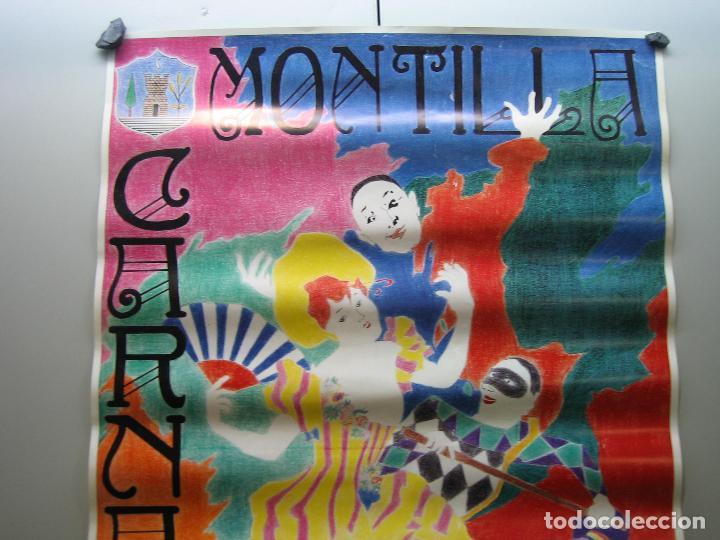 Carteles Espectáculos: Cartel carnaval Montilla 1992. Medidas 60x41 cm - Foto 2 - 116756779