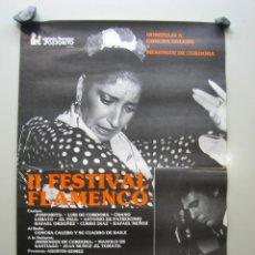 Carteles Espectáculos: CARTEL II FESTIVAL DE FLAMENCO EN CÓRDOBA. MEDIDAS 23X33 CM. Lote 116757139