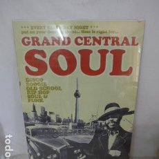 Carteles Espectáculos: CARTEL DE MUSICA GRAND CENTRAL SOUL, BOHANNON. ORIGINAL.. Lote 118761091