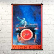 Affissi Spettacoli: GRAN CARTEL DE TELA MICHELÍN. 90X60CM. NUEVO. Lote 230966410