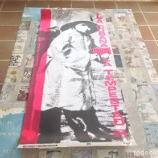 Carteles Espectáculos: CARTEL LA CUBANA PRESENTA LA TEMPESTAT DE SHAKESPEARE - DISENO RPM. Lote 120331763