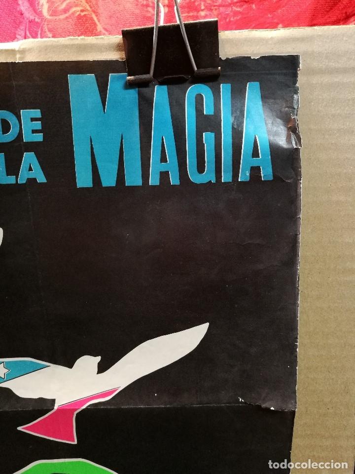 Carteles Espectáculos: CARTEL MAGIA , SEMANA INTERNACIONAL de la MAGIA , 1969 , SALTA --ARGENTINA-GRAN TAMAÑO - Foto 7 - 122467443