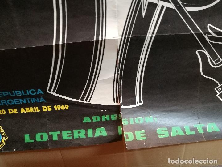 Carteles Espectáculos: CARTEL MAGIA , SEMANA INTERNACIONAL de la MAGIA , 1969 , SALTA --ARGENTINA-GRAN TAMAÑO - Foto 12 - 122467443