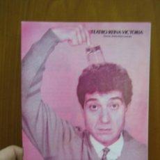 Carteles Espectáculos: PROGRAMA DE TEATRO. TEATRO VICTORIA . EL EXTRANJERO. ANDRES PAJARES. Lote 123358551
