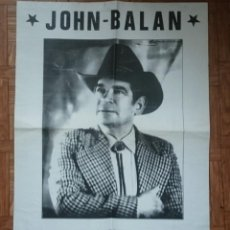 Affiches Spectacles: JOHN BALAN. THE ORCHESTRA MAN. 59 CM X 43 CM. Lote 126829735