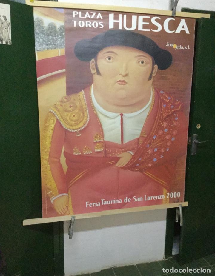 CARTEL TOROS HUESCA 2000 (Coleccionismo - Carteles Gran Formato - Carteles Circo, Magia y Espectáculos)