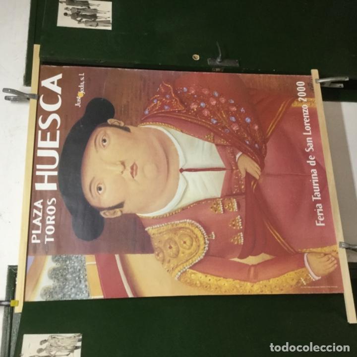 Carteles Espectáculos: Cartel toros huesca 2000 - Foto 2 - 128933743
