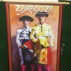 Carteles Espectáculos: CARTEL TOROS ZARAGOZA 2001. Lote 128933623