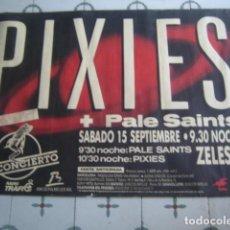 Carteles Espectáculos: THE PIXIES - CARTEL ORIGINAL CONCIERTO BARCELONA 90S ***** 100 X 68 CMS. Lote 130872376