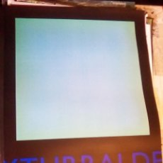 Carteles Espectáculos: CARTEL EXPOSICION - JOSE Mª YTURRALDE -. IVAM. VALENCIA EN AÑO 1999.TAMAÑO 70 X 50 CMS. Lote 132691438