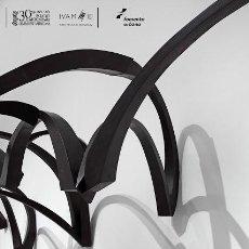 Carteles Espectáculos: CARTEL EXPOSICION - MAR SOLIS - LA LINEA , LA CURVA , LA ELIPSE. 2012 IVAM. VALENCIA. 70X50 CMS. Lote 132691598