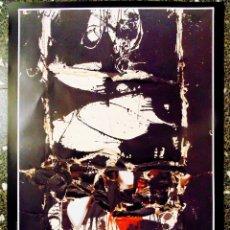 Carteles Espectáculos: CARTEL DE EXPOSICION DE - CHILLIDA .MILLARES.SAURA.Y TAPIES-EL IMPRESIONISMOS ESPAÑOL-EN IVAM 1989. Lote 134414722