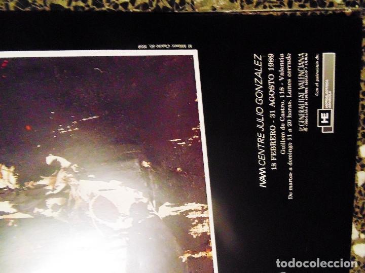 Carteles Espectáculos: CARTEL DE EXPOSICION DE - CHILLIDA .MILLARES.SAURA.Y TAPIES-EL IMPRESIONISMOS ESPAÑOL-EN IVAM 1989 - Foto 3 - 134414722