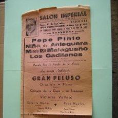 Affissi Spettacoli: CARTEL DE FLAMENCO. Lote 135153614