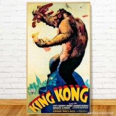 Carteles Espectáculos: CARTEL KING KONG. TAMAÑO GIGANTE 102X51. Lote 137395950