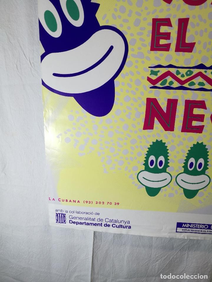 Carteles Espectáculos: Cartel teatro espectaculo comeme el coco negro--compañia la cubana sitges-barcelona 1989--- - Foto 2 - 156467662